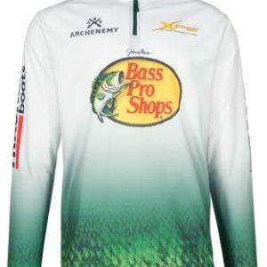 BLUSA MANGA LONGA -BASS PRO SHOPS –  Fishing Jersey for Men  – tamanho L