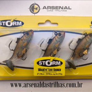 2 IN WILDEYE LIVE SHINER STORM – ISCA ARTIFICIAL 2/6cm – 10g