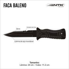 FACA DE MERGULHO BALLENO NTK