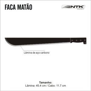 FACÃO MATÃO – NTK