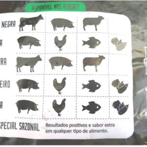 Wood Chips – Lascas para Defumação Bom de Brasa – Acácia Negra 1 kg.