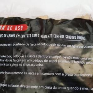Wood Chips – Lascas para Defumação Bom de Brasa – Macieira 1 kg.