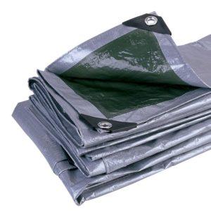 Lona Multi-Uso 2X2 m NTK dupla face – prata/verde