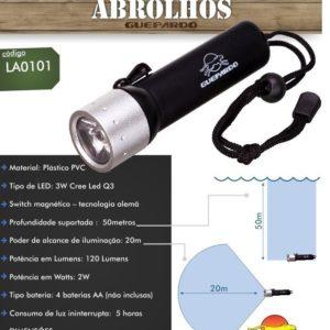 Guepardo Lanterna para mergulho Abrolhos – Guepardo
