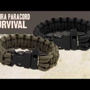 Pulseira Survival  GUEPARDO  M – VERDE OU PRETA