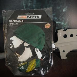 Bandana unissex NTK Brasil de secagem rápida com proteção UV 50+ Unica