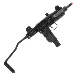 Rifle Submetralhadora de Airsoft KWC GBB CO2 Mini Uzi Black