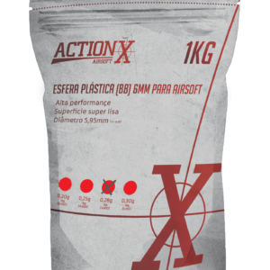 Munição de Airsoft BB'S ActionX 0,28G