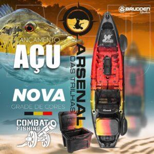 CAIAQUE COMBAT FISHING BRUDDEN COMBO AÇU