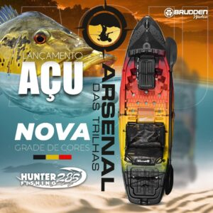 CAIAQUE HUNTER FISHING 285 BRUDDEN AÇU