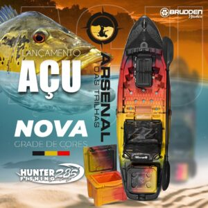 CAIAQUE HUNTER FISHING 285 AÇU COMBO