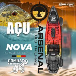 CAIAQUE COMBAT FISHING BRUDDEN AÇU