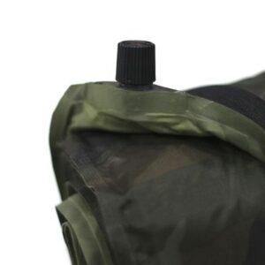 Colchão auto inflável NTK com espuma de alta densidade e travesseiro incorporado Klush