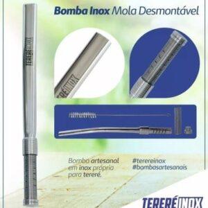 Bomba Inox Mola Desmontável